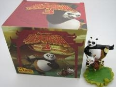 China anime merchandise animation film related resin toy figures Kung Fu Panda on sale