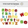 China Lowercase Soft Felt Alphabet Letters For Diy Kids Arts And Crafts Supplies for sale