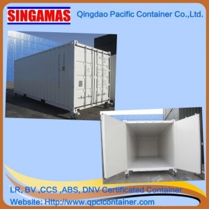 China Singamas Qingdao Factory Directly Produce and Sell 20ft New Insulated Container on sale