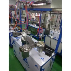 China mini automatic paint spraying line on sale