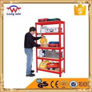 China Product: NSF certification heavy duty metal priced supermarket shelving on sale