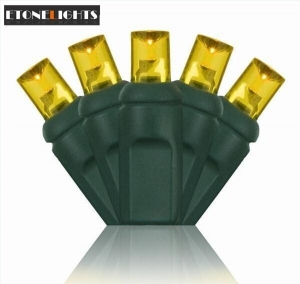 China UL 5MM LED Christmas Lights-Yellow on sale