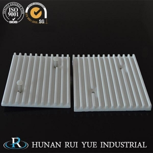 China Insulation porcelain material electrical steatite ceramic parts on sale