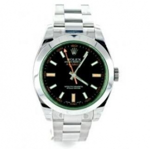 China Rolex Milgauss 116400GV Green Glass on sale