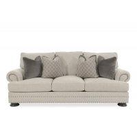 Bernhardt Foster Gray Sofa