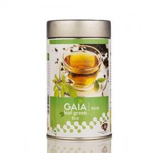 China Gaia Leaf Green Tea  Tulsi on sale