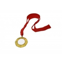 China Sublimation Gold Badge on sale
