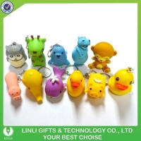 Factory Hot Selling Animal Sound Keychain
