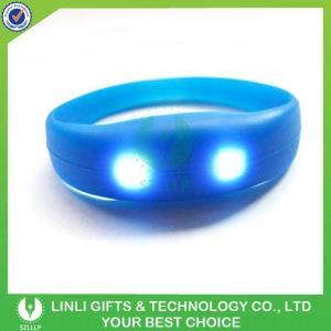China Wholesale Music Motion Activated Led Light Concert Bracelet on sale