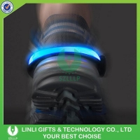 Colors Flash Led Light Shoe Clip Bike Cycling Sports Led Lights For Shoes