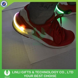 China Hot Selling USB Rechargeable LED Shoe Clip Light For Sports Safety Usage on sale