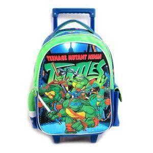 China Boys Rolling Backpack For School Travel Trolley Animal Suitcase Trolley Bags For Kids on sale