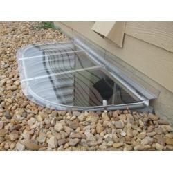 China Polycarbonate vacuum formed dome cover on sale