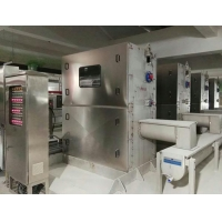 Type XKBG into the flow of fine grille decontamination machine