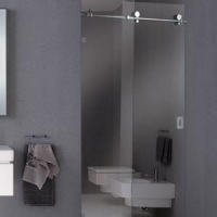 Frameless Sliding Shower Door/enclosures/partition/ Screens/ Stalls/Walk In Shower/Bathroom Showers