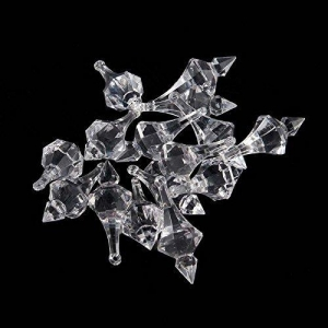 China 1 Pound Clear Acrylic Chandelier Drops on sale