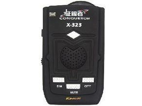 China Car Radar Laser Speed Camera Detector Full Band 360 Detection System Alarm Voice on sale
