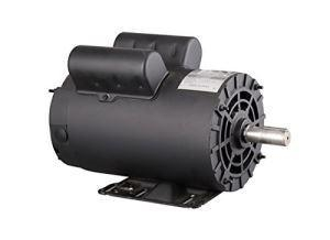 China Regid Base Single Phase ODP Special Replacement Motor for Air Compressor on sale
