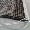 China PE Braided Knotted Tennis Net With Double Layer of the Top 6 for sale