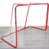China Hockey Net with Red Steel Frame for sale