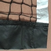 China Knotless Tennis Net with Black and White Band for sale
