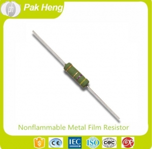 China 500 OHM Resistor Packages Nonflammable Thin Metal Film Fixed Resistors with 5% Resistance Tolerance on sale