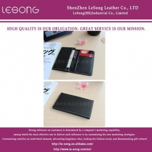 China LS1071 High-end PU Letaher Card Holder on sale