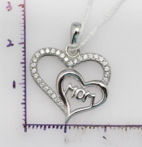China Sterling silver pendant 925 Sterling silver necklace for women on sale