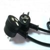 China New SAA 3Pin AU power plug with female socket for sale
