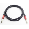 China Classic Red 6.35mm Ts Cable Male to Male for sale