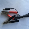 China Alligator dc power cable with alligator clip battery for sale