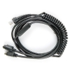 China Coiled Barcode Scanner PS2 Cable for Honeywell Hhp 1300g for sale