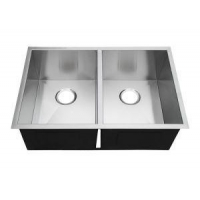 29 Inch Deep Double Sinks Stainless Steel Undermount For Kitchen