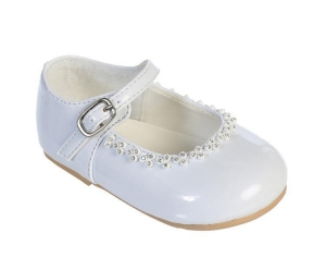 China Baby shoes soft sole baptism Model: LC608-30 on sale