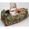 China Lounge Air Chair Lounge Air Bed With Nylon Material for sale