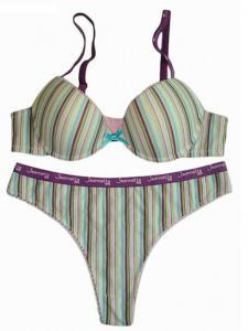 China Strap new design women bra underwear T-string sexy panty women bra set on sale