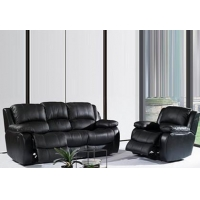 Sectional sofa recliner 8387