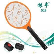 China D26 electronic fly swatter electric mosquito swatter pest killer electronic bed bug killer on sale