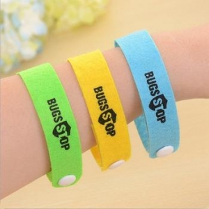 China 100PCS/lot Mosquito Killer Natural Citronella Baby Mosquito Repellent Wristband Bracelet on sale