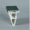 China Bright ASA Color Coated High Anti-UV Strength And Stable UPVC Window Door Profiles for sale