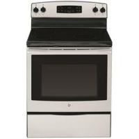 1029100 GE FREE-STANDING ELECTRIC RANGE, SELF-CLEANING, 30 IN., 5.3 CU. FT., STAINLESS STEEL