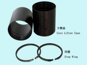 China BQ NQ HQ PQ Wireline Core Barrel Assembly Core Lifter AMD Fluted Core Lifter Case on sale