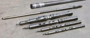 China Double Tube Core Barrel Assembly Wireline Core Drill Parts 3m 1.5m NQ HQ PQ on sale