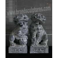 China Large Modern Fiberglass Animal Sculpture as Outdoor Decor on sale