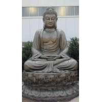 China Splendid and Majestic Temple Decor Bronze Large Buddha Statue on sale