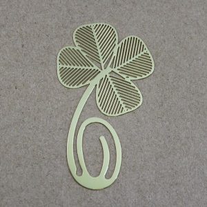 China Die-Cut Paper Clip Metal Bookmark on sale