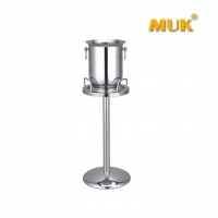 Stainless Steel Ice Bucket Vodka Bottle Metal Ice Bucket Stainless Steel Wine and Champagne