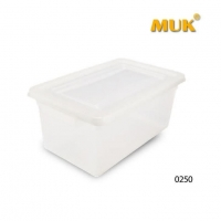 China PC Material Square Round Food Grade Storage Container,Box or Bin on sale