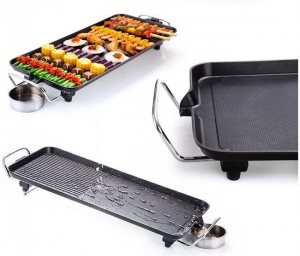 China No Soot Non-stick Aluminum Electric Grill on sale
