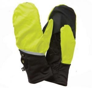 China Men Membrane Half Finger Fleece Gloves on sale